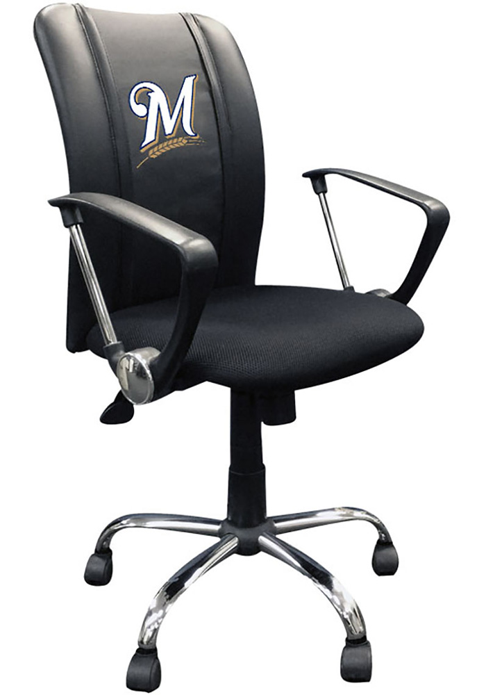 Milwaukee Brewers Curve Desk Chair - Image 1