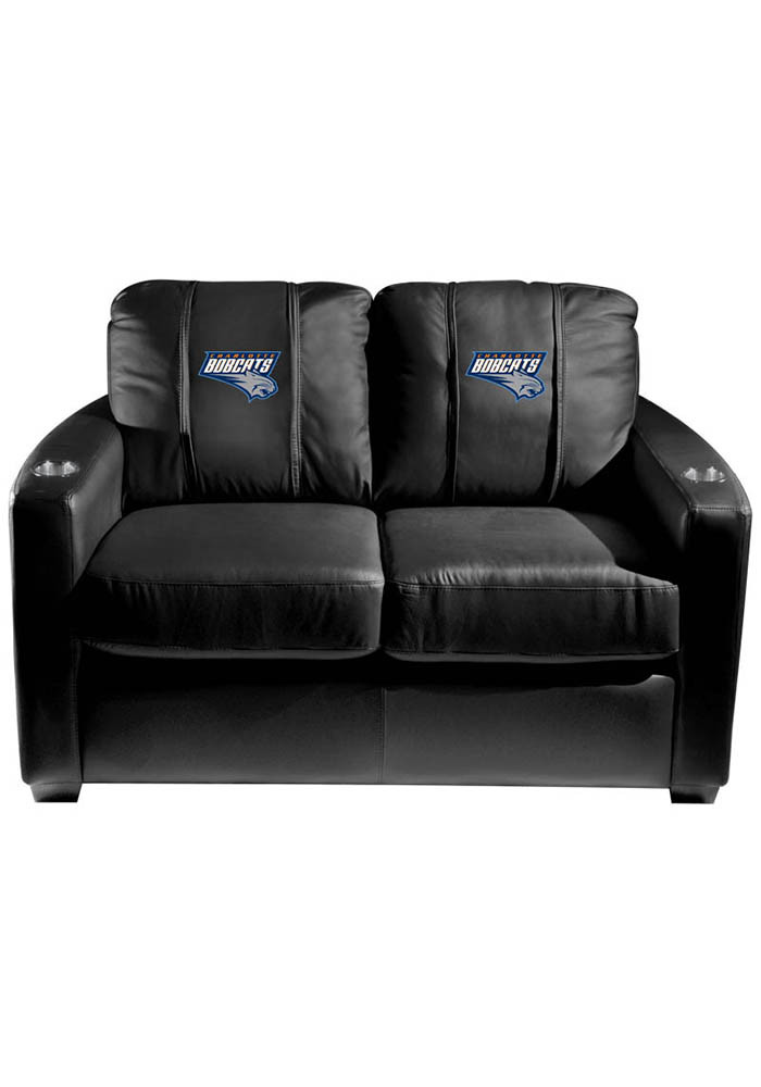 Charlotte Hornets NBA Silver Loveseat Love Seat - Image 1