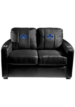 New Orleans Pelicans NBA Silver Loveseat Love Seat