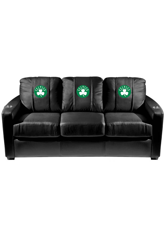 Boston Celtics NBA Silver Sofa Sofa - Image 1
