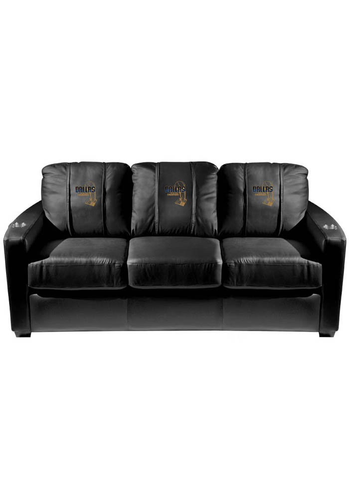 Dallas Mavericks NBA Silver Sofa Sofa - Image 1
