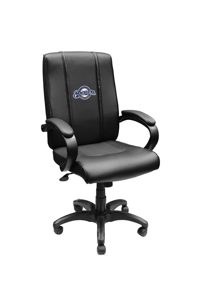 Milwaukee Brewers MLB Office Chair Desk Chair - Image 1
