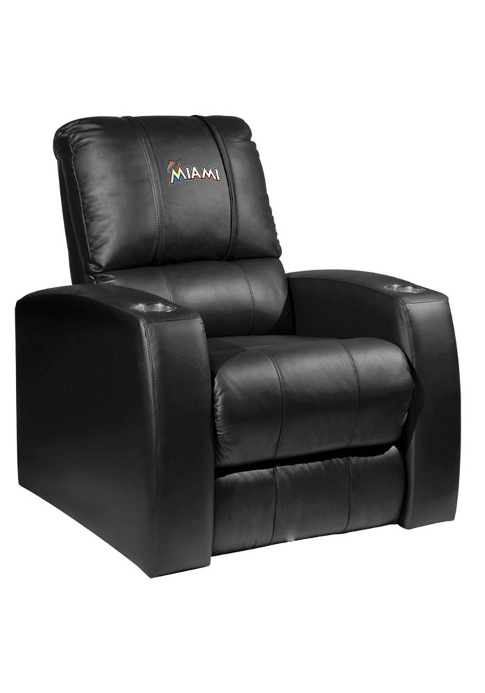Miami Marlins MLB Home Theater Recliner Recliner - Image 1