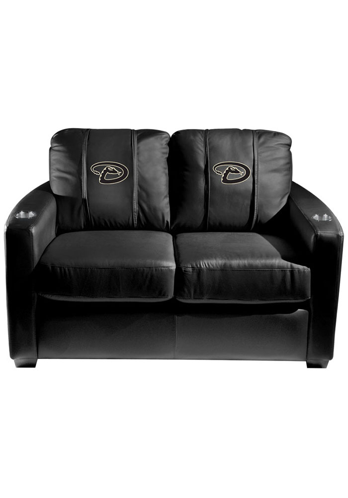 Arizona Diamondbacks MLB Silver Loveseat Love Seat - Image 1