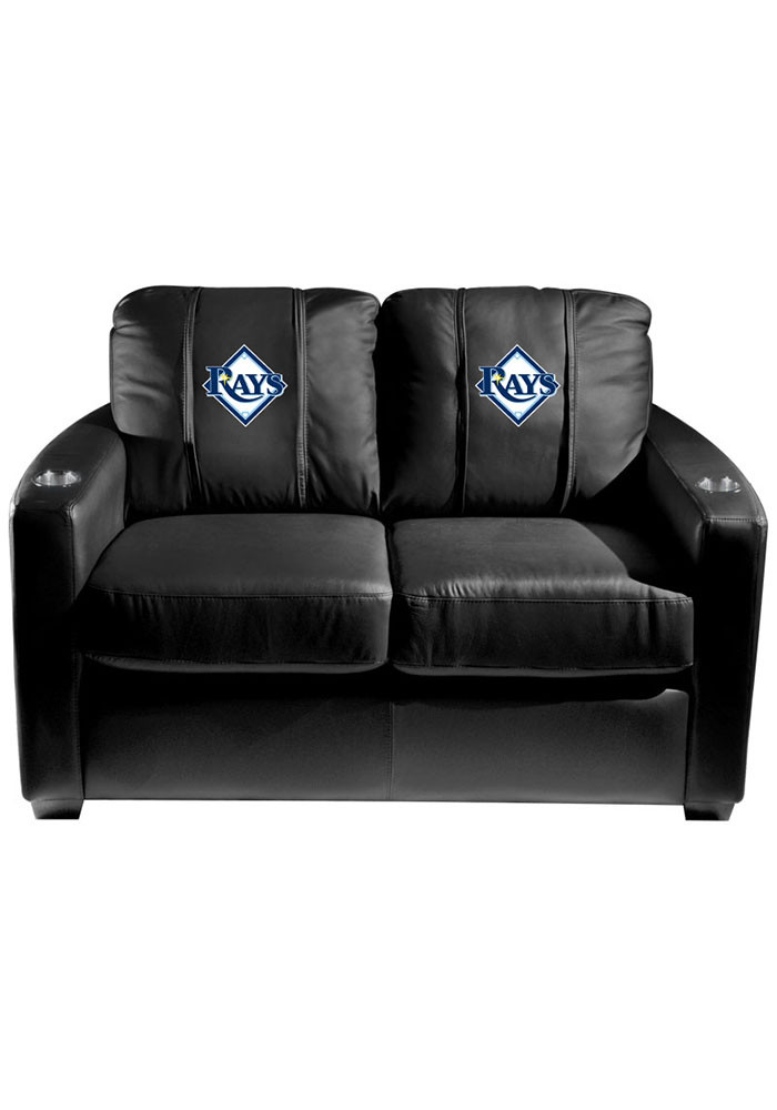 Tampa Bay Rays MLB Silver Loveseat Love Seat - Image 1