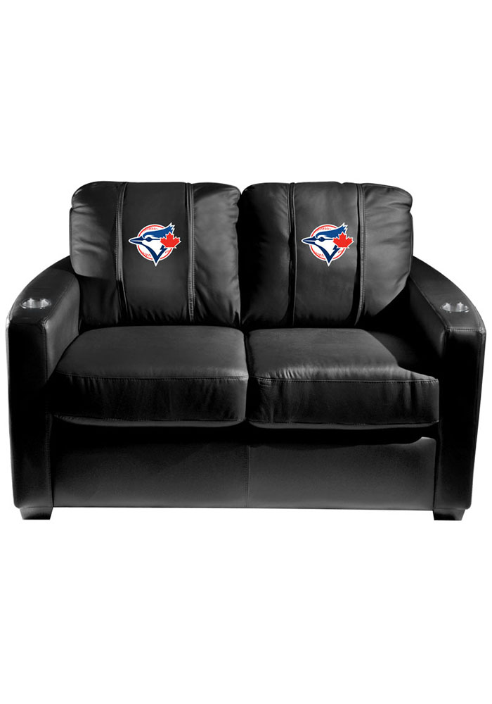Toronto Blue Jays MLB Silver Loveseat Love Seat - Image 1