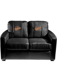 Baltimore Orioles Faux Leather Love Seat