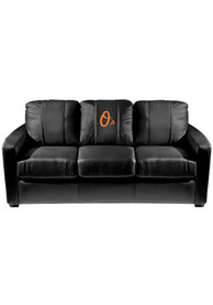 Baltimore Orioles Faux Leather Sofa