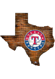 Texas Rangers 12 Mini Roadmap State Sign Sign
