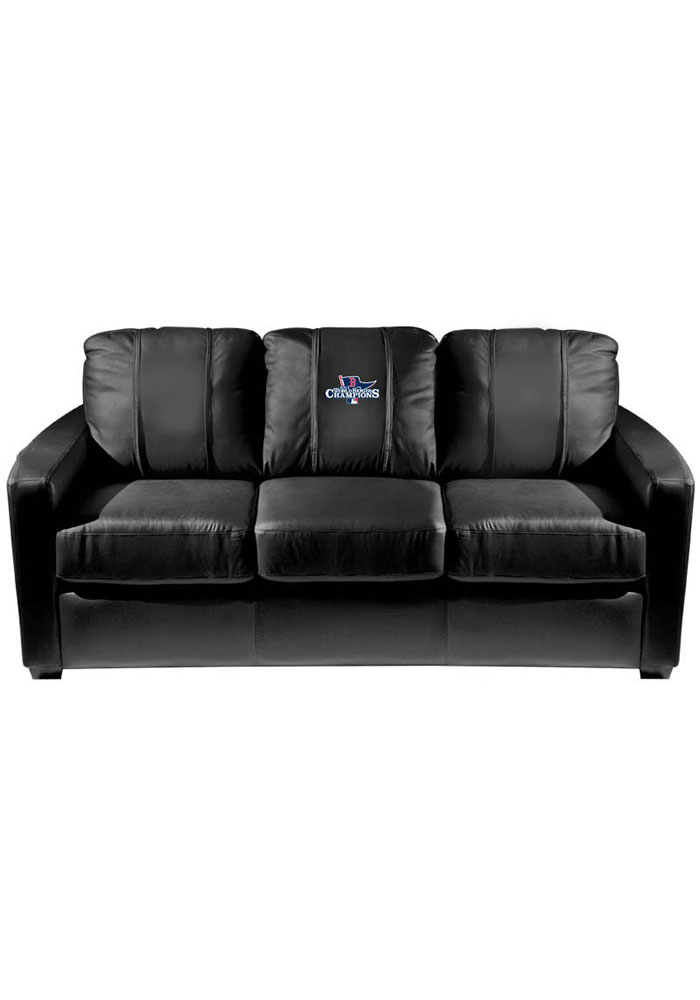 Boston Red Sox Faux Leather Sofa - Image 1