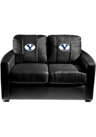 BYU Cougars Faux Leather Love Seat