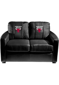 Chicago Bulls Faux Leather Love Seat