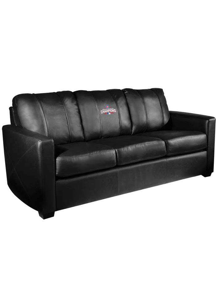 Chicago Cubs Faux Leather Sofa - 3262040