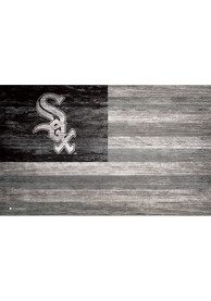 Chicago White Sox Distressed Flag 11x19 Sign