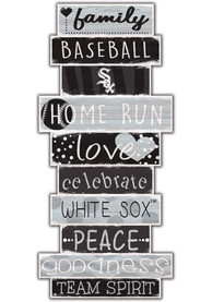 Chicago White Sox Celebrations Stack 24 Inch Sign