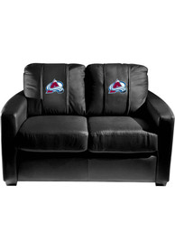 Colorado Avalanche Faux Leather Love Seat