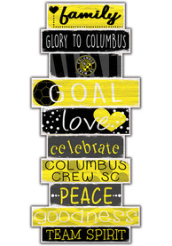 Columbus Crew Celebrations Stack 24 Inch Sign