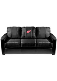 Detroit Red Wings Faux Leather Sofa