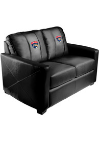 Drury Panthers Faux Leather Love Seat