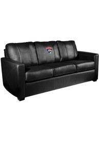 Drury Panthers Faux Leather Sofa