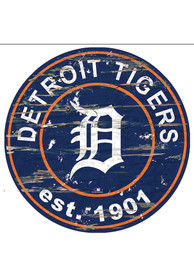 Detroit Tigers Established Date Circle 24 Inch Sign