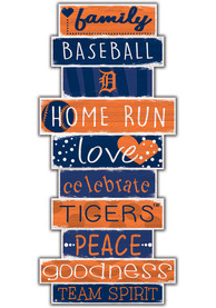 Detroit Tigers Celebrations Stack 24 Inch Sign