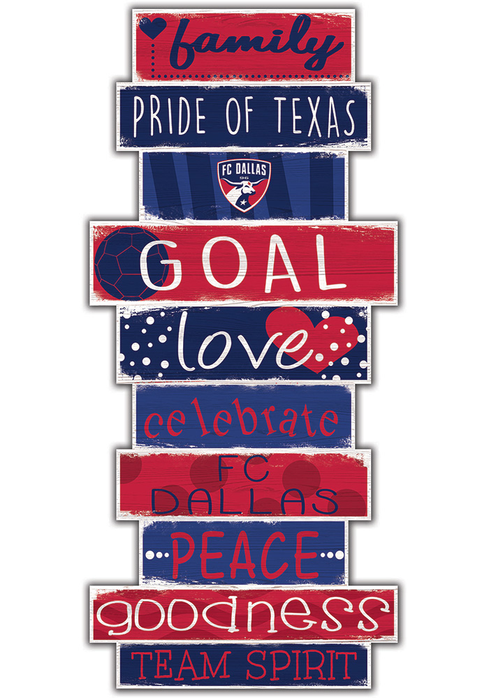 FC Dallas Celebrations Stack 24 Inch Sign - Image 1