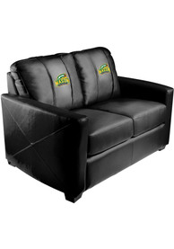 George Mason University Faux Leather Love Seat