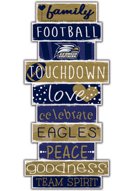 Georgia Southern Eagles Celebrations Stack 24 Inch Sign