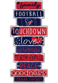 Houston Texans Celebrations Stack 24 Inch Sign