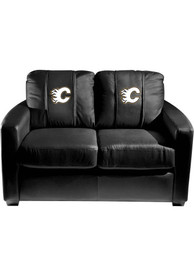 Liberty Flames Faux Leather Love Seat