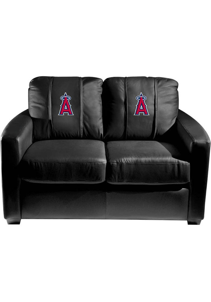 Los Angeles Angels Faux Leather Love Seat - Image 1