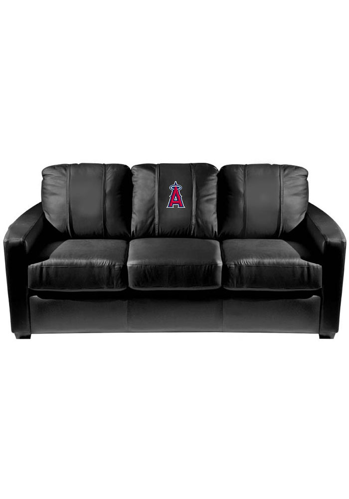 Los Angeles Angels Faux Leather Sofa - Image 1