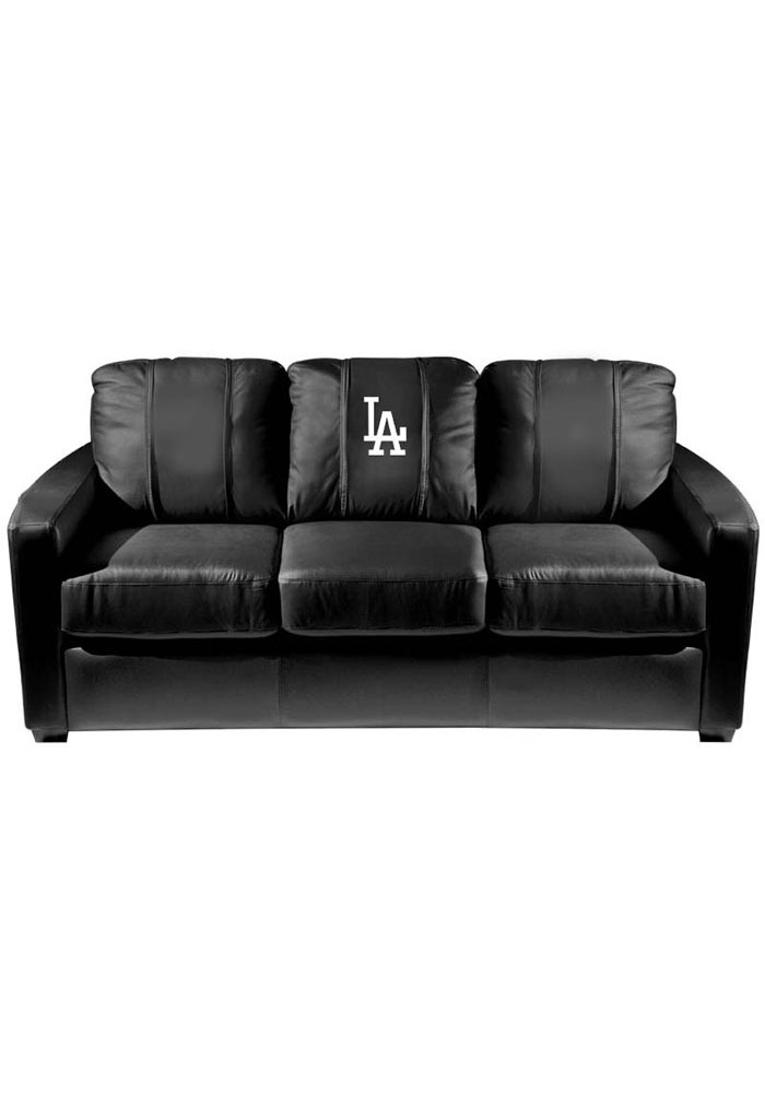Los Angeles Dodgers Faux Leather Sofa