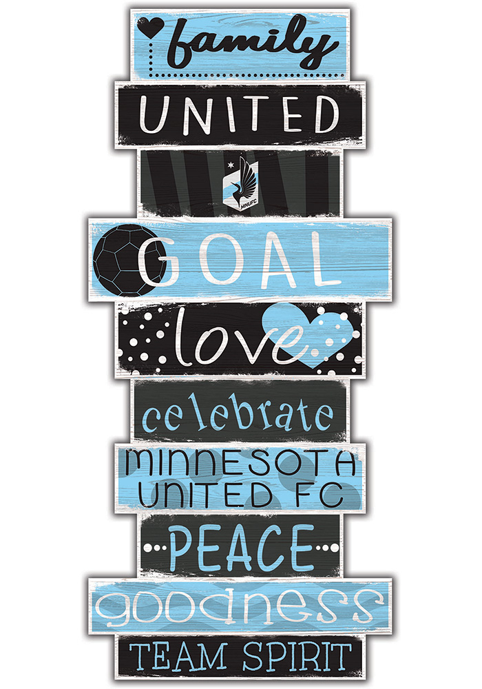 Minnesota United FC Celebrations Stack 24 Inch Sign