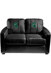 Michigan State Spartans Faux Leather Love Seat