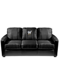 Milwaukee Brewers Faux Leather Sofa