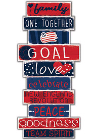 New England Revolution Celebrations Stack 24 Inch Sign