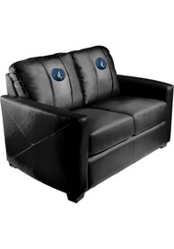 Minnesota Timberwolves Faux Leather Love Seat