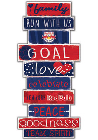New York Red Bulls Celebrations Stack 24 Inch Sign