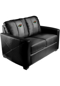 Minnesota Wild Faux Leather Love Seat