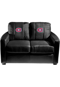 Montreal Canadiens Faux Leather Love Seat