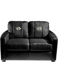 Nashville Predators Faux Leather Love Seat