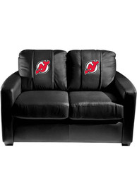 New Jersey Devils Faux Leather Love Seat