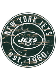 New York Jets Established Date Circle 24 Inch Sign