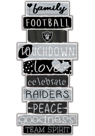 Las Vegas Raiders Celebrations Stack 24 Inch Sign
