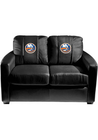 New York Islanders Faux Leather Love Seat