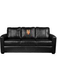 New York Mets Faux Leather Sofa