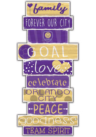 Orlando City SC Celebrations Stack 24 Inch Sign