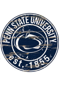 Penn State Nittany Lions Established Date Circle 24 Inch Sign